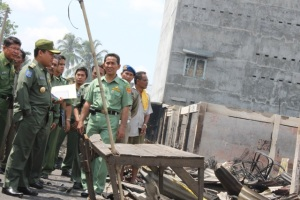 Kebakaran Pasar Inpres Kotapinang